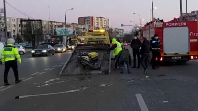 Un polițist din Pitești a murit marți seară într-un accident. Era pe motocicletă