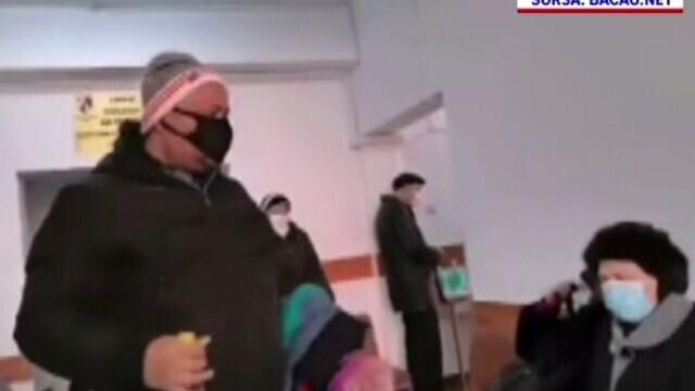 Scandal la Oftalmologie, în Spitalul Bacău. Pacienții au fost scoși afară la -7 grade C