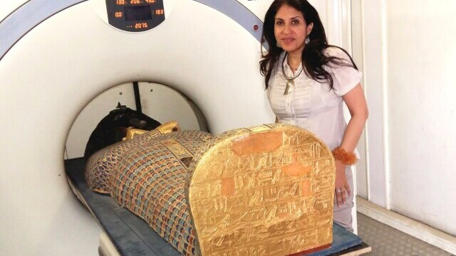 Ce a dezvăluit o tomografie făcută mumiei unui faraon egiptean. FOTO