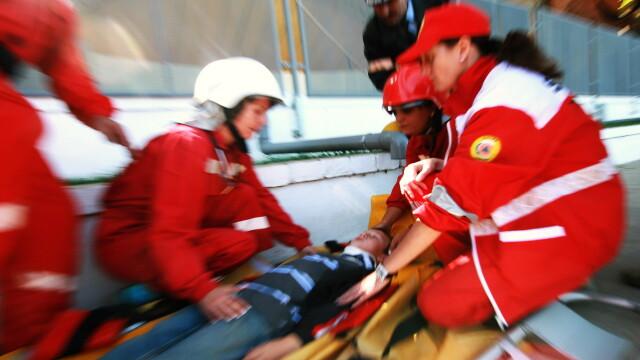 Pericol de explozie pe soseaua Colentina, dupa un grav accident rutier