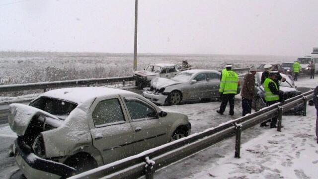 Accidente Autostrada Soarelui