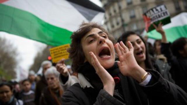 Protestele evreilor continua in Israel, de data aceasta pasnic