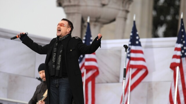A inceput seria de concerte in onoarea lui Obama!
