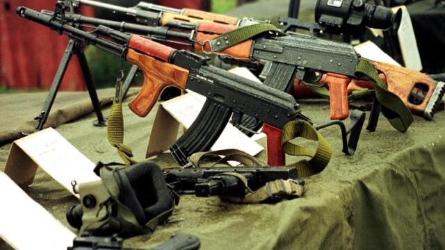 Depozitul de armament de la Ciorogarla era descuiat