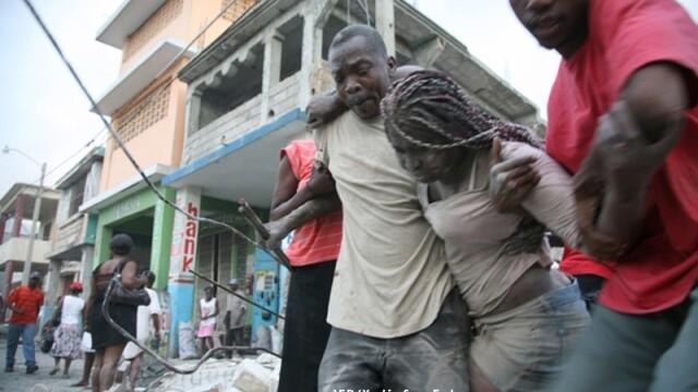 Infernul se intoarce in Haiti! Cutremur de 6 pe scara Richter! - Imaginea 5