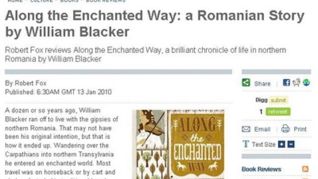 Un scriitor britanic a lasat Anglia pentru a trai alaturi de tiganii romani