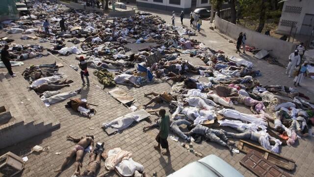 Infernul se intoarce in Haiti! Cutremur de 6 pe scara Richter! - Imaginea 4
