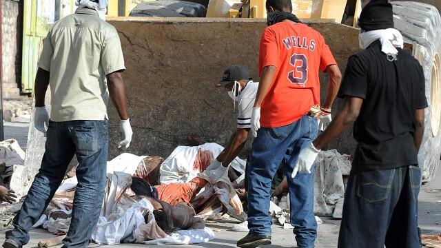 Infernul se intoarce in Haiti! Cutremur de 6 pe scara Richter! - Imaginea 1