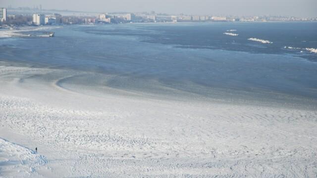 Efectele gerului: Marea Neagra e inghetata bocna, iar Dunarea fierbe! - Imaginea 10