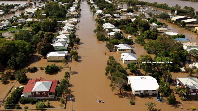 Cosmarul inundatiilor rascoleste din nou Australia: 58 de orase, sub ape - Imaginea 2