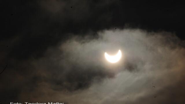 Prima eclipsa partiala de soare din 2011 a durat trei ore. VIDEO si FOTO! - Imaginea 26