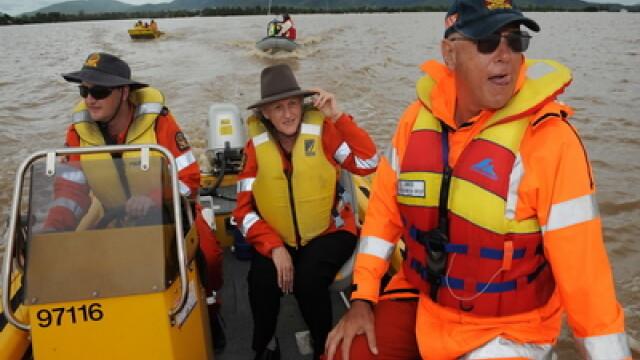 Cosmarul inundatiilor rascoleste din nou Australia: 58 de orase, sub ape - Imaginea 1