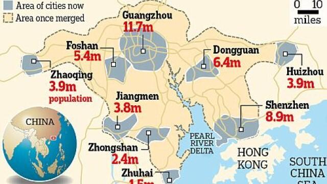 zona metropolitana China