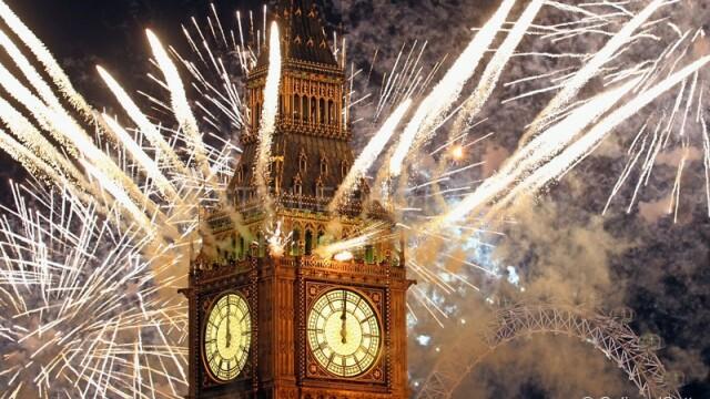 Adio, 2011, bun venit, 2012! Spectacolul de Revelion de pe diferite continente, in imagini uimitoare - Imaginea 8