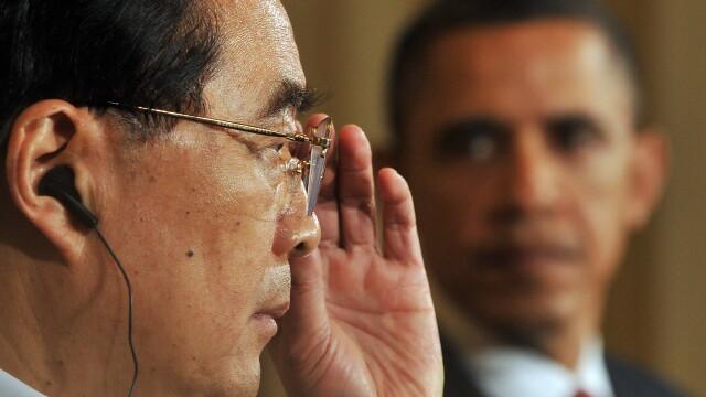 Hu Jintao si Barack Obama