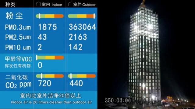 Chinezii au construit un zgarie-nori cu 30 de etaje in 15 zile. Iata dovada VIDEO