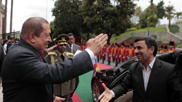 Iranul are cel putin un prieten in conflictul cu SUA: presedintele Venezuelei, Hugo Chavez - Imaginea 2