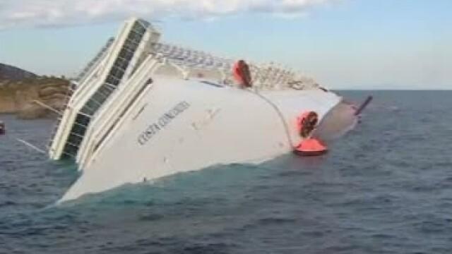 Costa Concordia, vapor scufundat