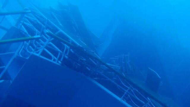 Paza de coasta italiana publica imagini in premiera cu vasul Costa Concordia sub apa. GALERIE FOTO - Imaginea 1