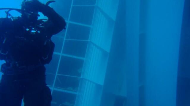 Paza de coasta italiana publica imagini in premiera cu vasul Costa Concordia sub apa. GALERIE FOTO - Imaginea 2