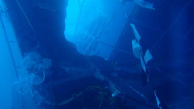 Paza de coasta italiana publica imagini in premiera cu vasul Costa Concordia sub apa. GALERIE FOTO - Imaginea 3