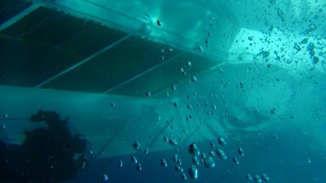 Paza de coasta italiana publica imagini in premiera cu vasul Costa Concordia sub apa. GALERIE FOTO - Imaginea 5