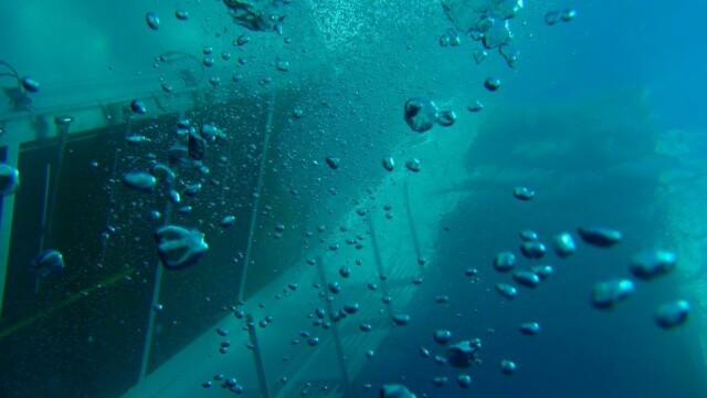 Paza de coasta italiana publica imagini in premiera cu vasul Costa Concordia sub apa. GALERIE FOTO - Imaginea 6