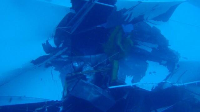 Paza de coasta italiana publica imagini in premiera cu vasul Costa Concordia sub apa. GALERIE FOTO - Imaginea 7