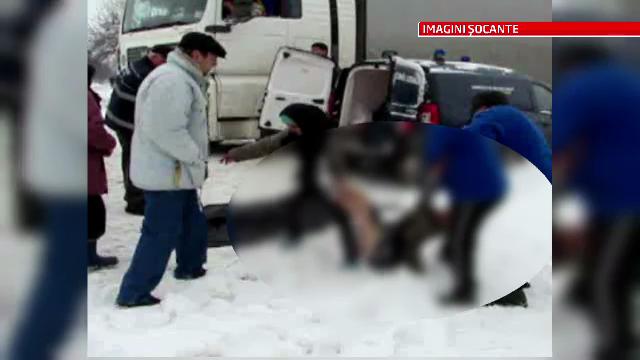 Imagini socante: doua persoane au murit de frig. Masurile obligatorii pentru a te feri de hipotermie