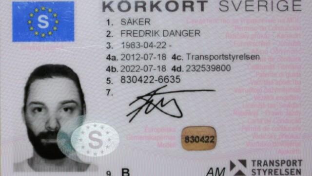 """""""Individul asta ne-a dus de nas ca pe niste copii"""". Ce reprezinta fotografia de pe permisul auto"""