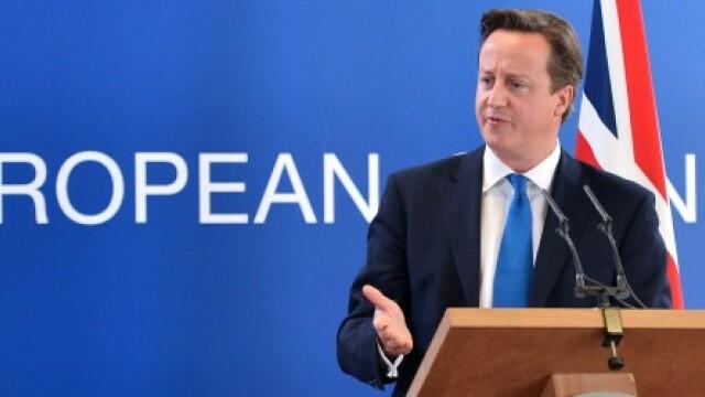 Cameron va bloca modificarea tratatului UE daca Marea Britanie nu va obtine concesii