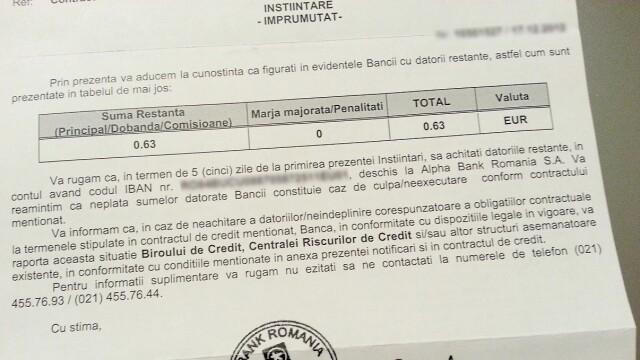 factura banca
