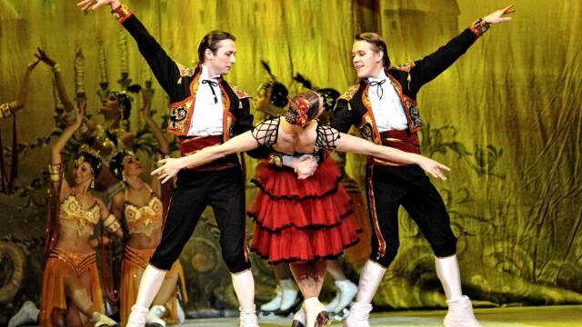balet pe gheta