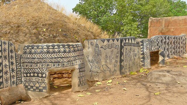 Galerie FOTO. Frumusetea unica a unui sat sarac, uitat de lume in savana africana - Imaginea 1