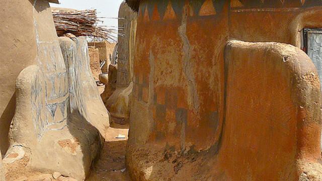 Galerie FOTO. Frumusetea unica a unui sat sarac, uitat de lume in savana africana - Imaginea 4
