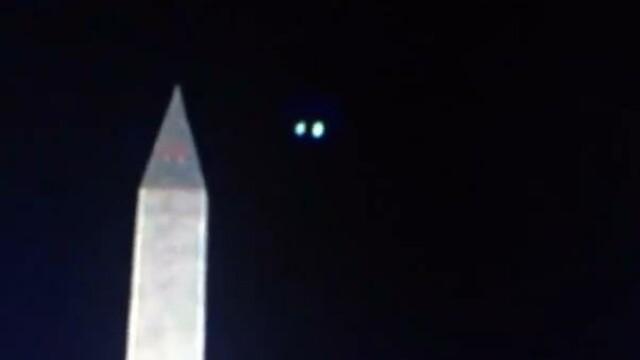 Un posibil OZN a fost surprins pe cer la festivitatea de investitura a lui Barack Obama. VIDEO