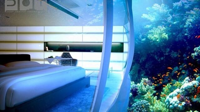 Galerie FOTO. Cel mai mare hotel subacvatic din lume va fi construit in Dubai - Imaginea 2