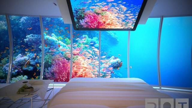 Galerie FOTO. Cel mai mare hotel subacvatic din lume va fi construit in Dubai - Imaginea 4