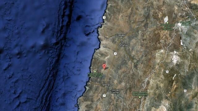 Un cutremur cu magnitudinea de 6,7 s-a produs in centrul statului Chile