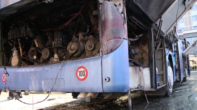 incendiu autocar timisoara