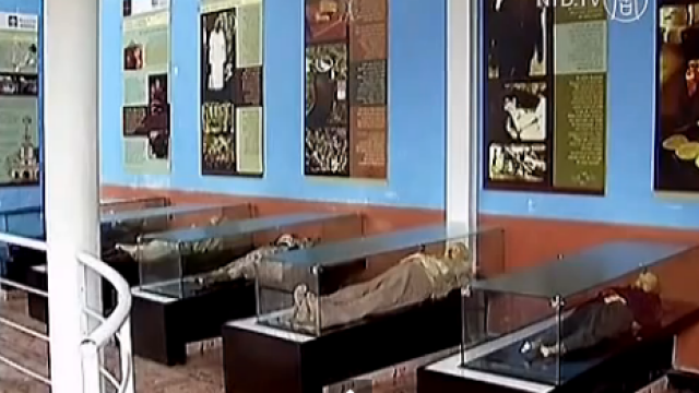 Cimitirul din Columbia unde cadavrele se mumifica singure in sicrie. Cum arata acestea. VIDEO