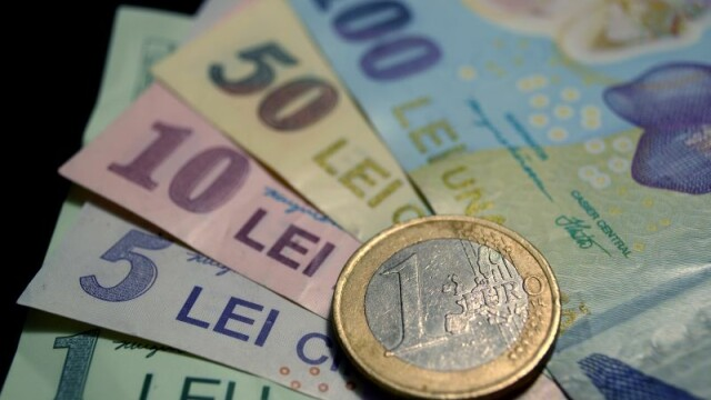 Leul s-a apreciat fata de euro, dupa scaderea de 4 bani inregistrata luni. Cursul anuntat de BNR pentru ziua de marti