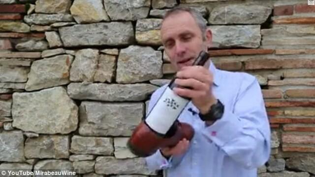 sticla cu vin