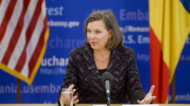Emisarul SUA in Europa, Victoria Nuland, si-a cerut scuze dupa ce a injurat Uniunea Europeana