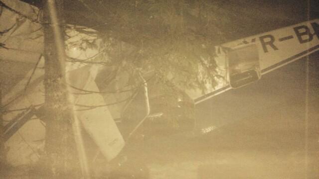 Salvatorii au primit COORDONATE GRESITE. Imagini care arata de ce Adrian Iovan a ramas blocat intre ramasitele avionului - Imaginea 1