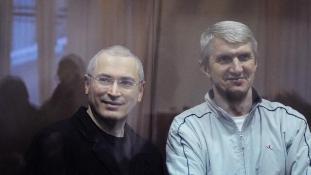 Platon Lebedev, asociatul lui Mihail Hodorkovski, eliberat joi din inchisoare, dupa 10 ani de detentie