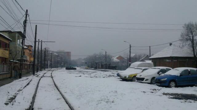 Iarna a pus stapanire pe Vestul tarii. Starea drumurilor din Banat si cum au intervenit utilajele de deszapezire
