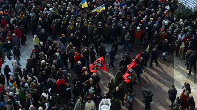 Euromaidan, revolutia care si-a luat numele de la un hashtag de pe internet. Momentele cheie ale celor 3 luni de revolte - Imaginea 9
