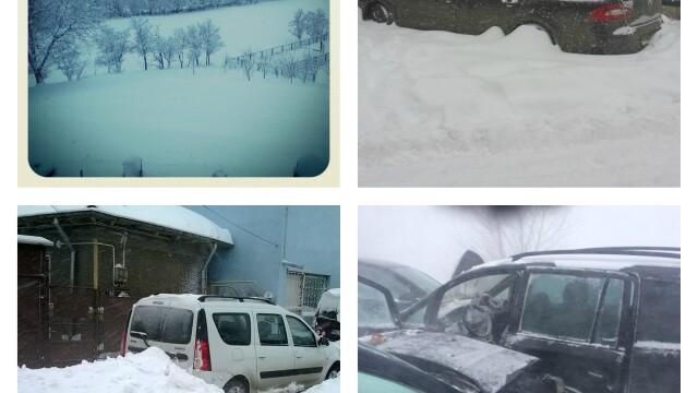 Romania sub zapada. Fotografii trimise de utilizatorii www.stirileprotv.ro