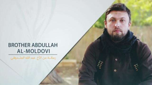 Presupus cetatean moldovean, membru al organizatiei teroriste Statul Islamic. \